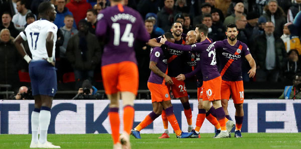 City, Tottenham'ı tek golle geçti