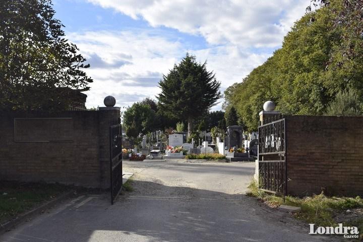 Tottenham Park Mezarlığı'nın önünde eylem gerçekleşecek