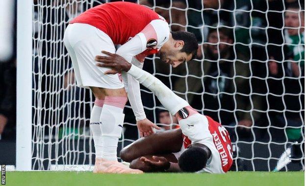 Arsenal, Sporting Lizbon'u geçemedi