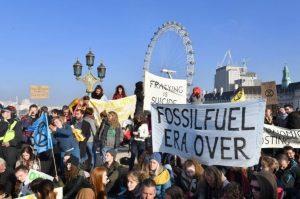 Binlerce çevreciden 5 köprüde sivil itaatsizlik eylemi