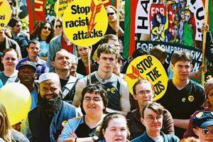 Irkçılık karşıtı gösteri