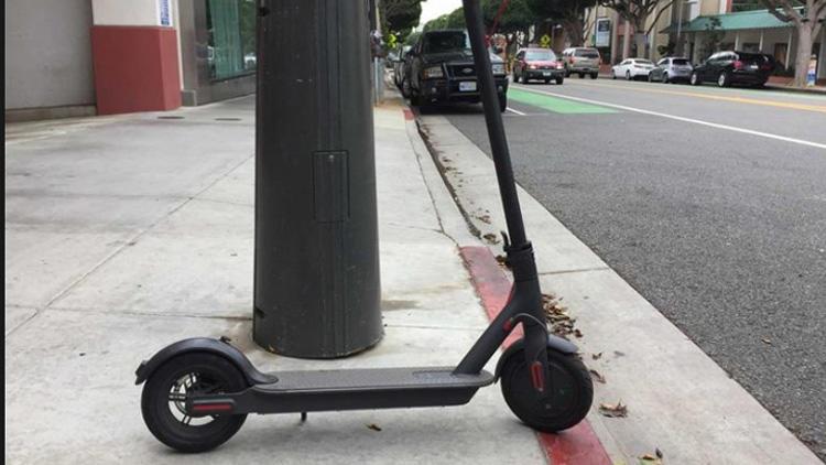 Scooter'la hız yapan çocuğa görülmemiş ceza