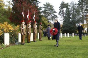 Birinci Dünya Savaşı'nda hayatını kaybeden askerler anıldı