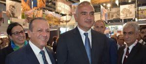 KKTC ve Türkiye Turizm Fuarı'nda temsil ediliyor