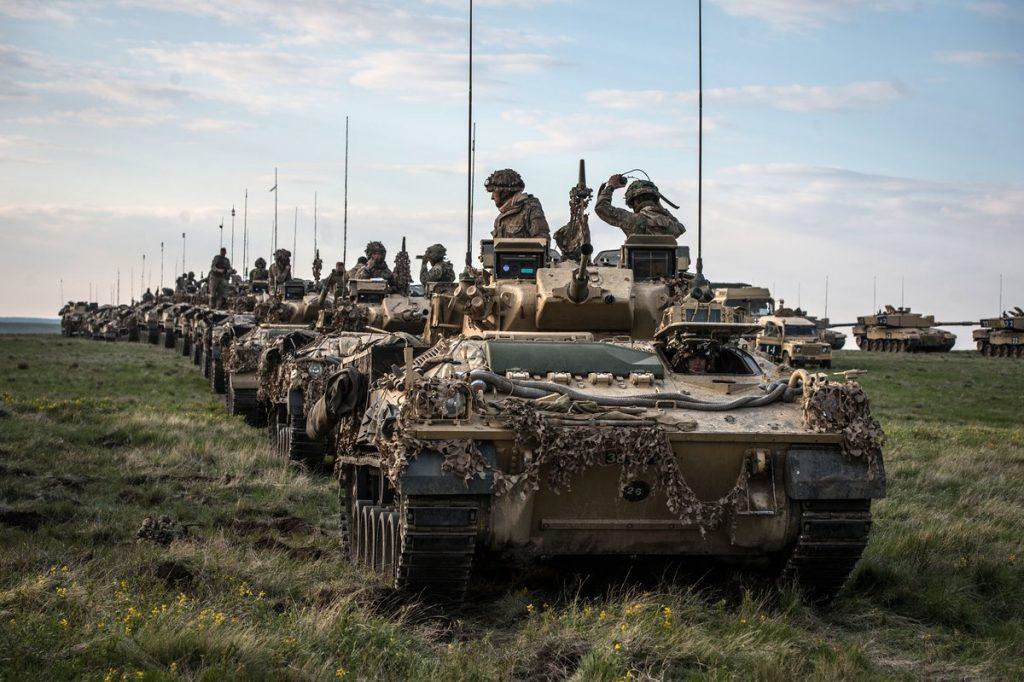 İngiltere ordusu olası Brexit kaosuna karşı alarmda