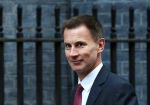 Dışişleri Bakanı Hunt, bugün Suudi Arabistan'a gidiyor