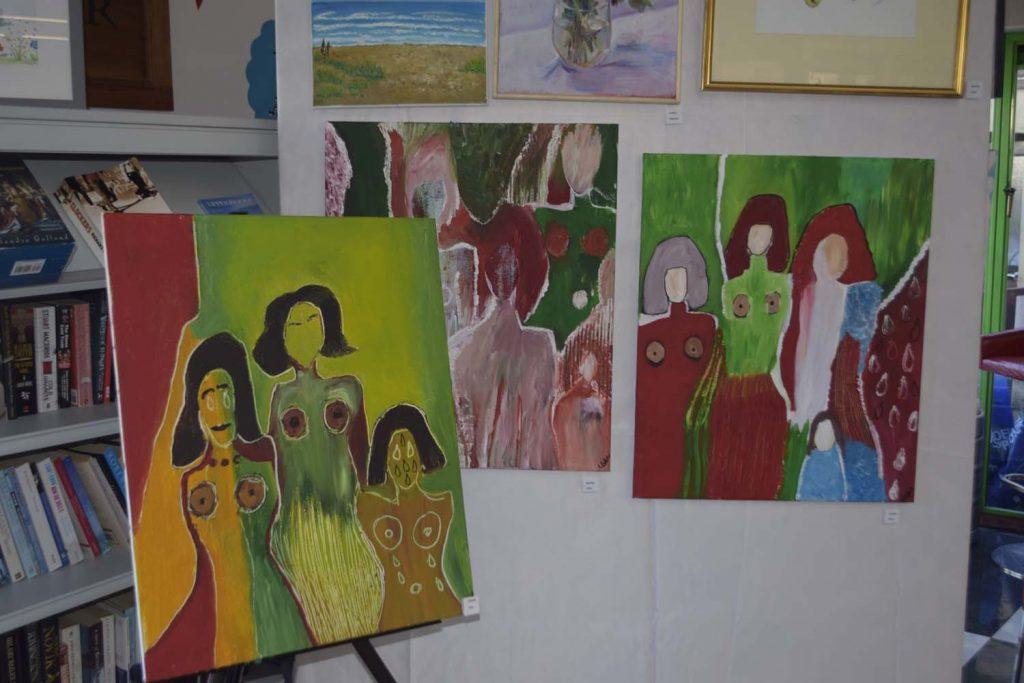 British Alevi Federation, art exhibition held at Millfied Theatre