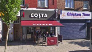 Londra'daki Costa kahve dükkanında bıçaklama…