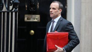 İngiltere Brexit Bakanı Dominic Raab istifa etti