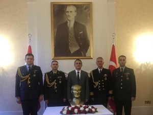 Atatürk commemorated on 80th anniversary