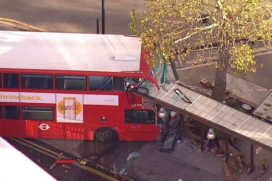 West Croydon bus station crash leaves 20 injured