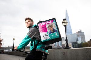 Deliveroo in drive to find missing people
