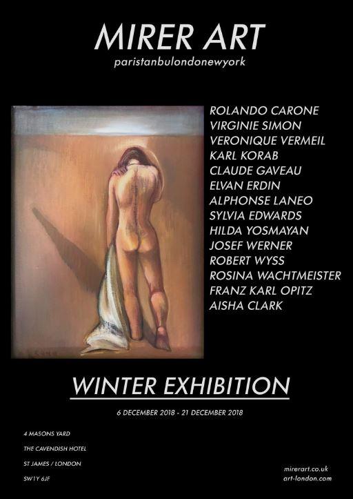 Kış Sergisi, Londra'da sanatseverlerin karşısına çıkacak