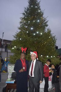 Christmas lights in Haringey
