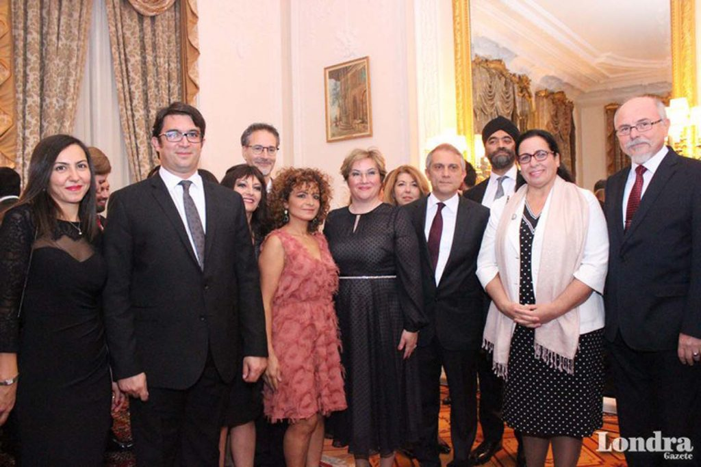 Republic reception at Turkish Embassy