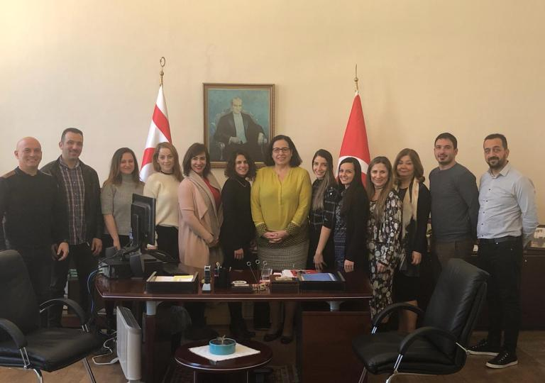 Education and Culture Attache Özçelik and teachers visited Tuncalı