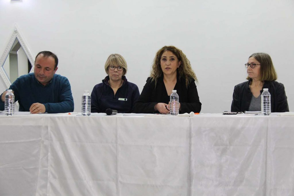 Public meeting against suicide and conflict was held