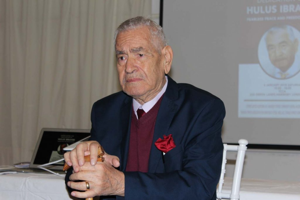 Advocate of peace and freedom Hulus İbrahim, dies at 87