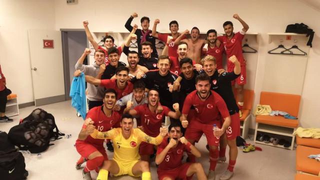 İngiltere'yi 1-0 yenen U19 Milli Takımımız, Elit Tura yükseldi