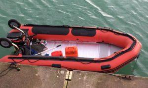 İngiltere açıklarında, kaçak bot tespit edildi