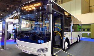 Sağ direksiyonlu yerli otobüs İngiltere pazarında