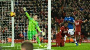 Derbi maçında Liverpool, Everton'u 1-0 yendi