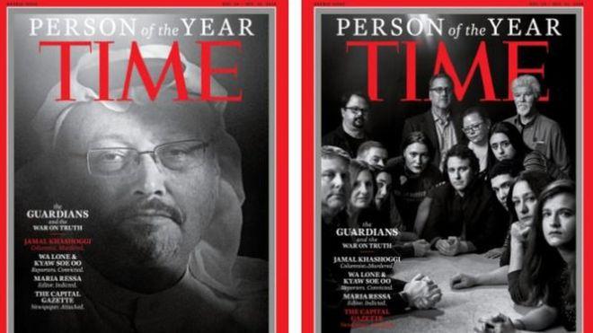 TIME 'Yılın Kişisi'ni seçti, listede Kaşıkçı da var