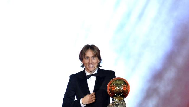 2018 Ballon D'or ödülü Hırvat Yıldız Modric'in oldu