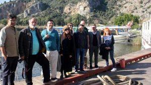 İngiliz gazeteciler tanıtım için Ortaca'yı gezdi