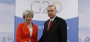 Erdoğan-May buluşması