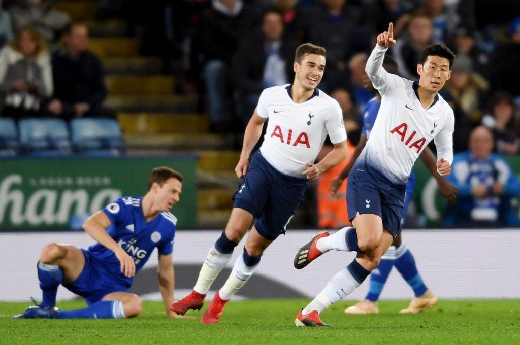 Tottenham, Leicester deplasmanından 2 golle çıktı!
