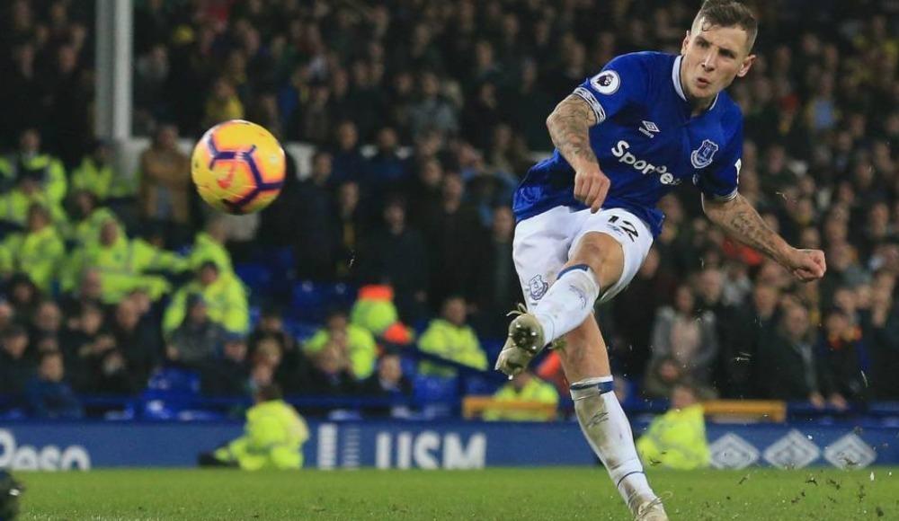 Everton'ı mağlubiyetten Digne'nin frikiği kurtardı