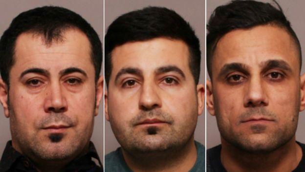 Leicester patlaması: Ali, Hassan ve Kurd mahkemeye çıkarıldı