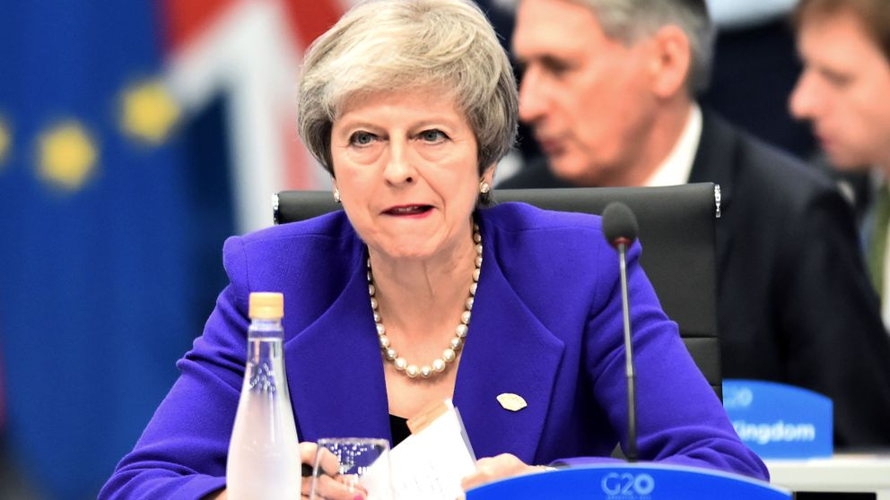 Brexit: May wins by 317 to 301 but only if the EU agrees