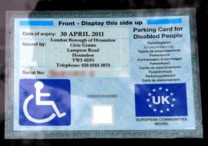 """""""Engelli mavi park kartı kullanımı için tedbir alınmalı"""""""