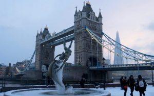 Londra kar altında kalacak!