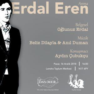 Day-Mer will commemorate Erdal Eren