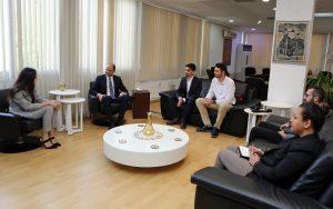 Kıbrıs Türk Gençlik Birliği İngiltere, Özersay ile görüştü