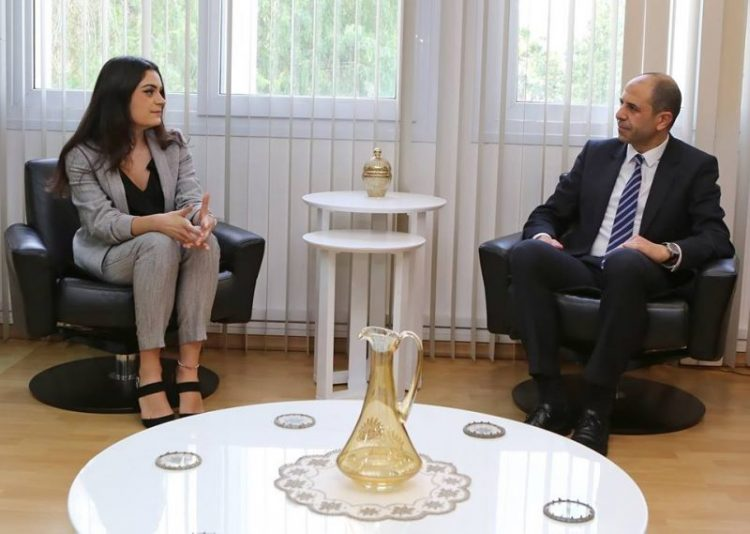 The Turkish Cypriot Youth Union UK met with Özersay