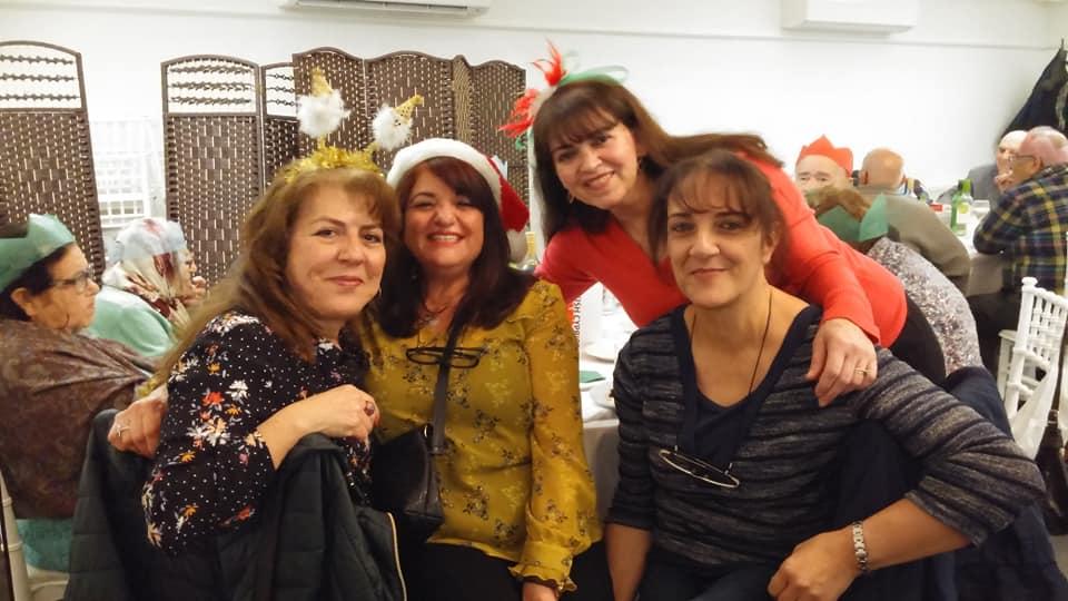 TCWP üyeleri Noel kutlamasında bir araya geldi