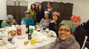 TCWP's Elderly Luncheon Christmas celebration