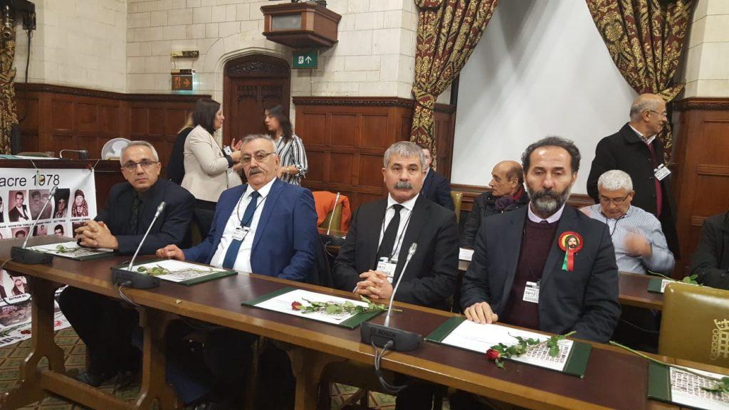 Maraş was commemorated in UK Parliament