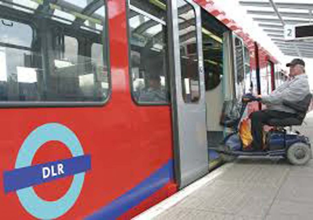 DLR offers training for mobility scooter and whelchair users