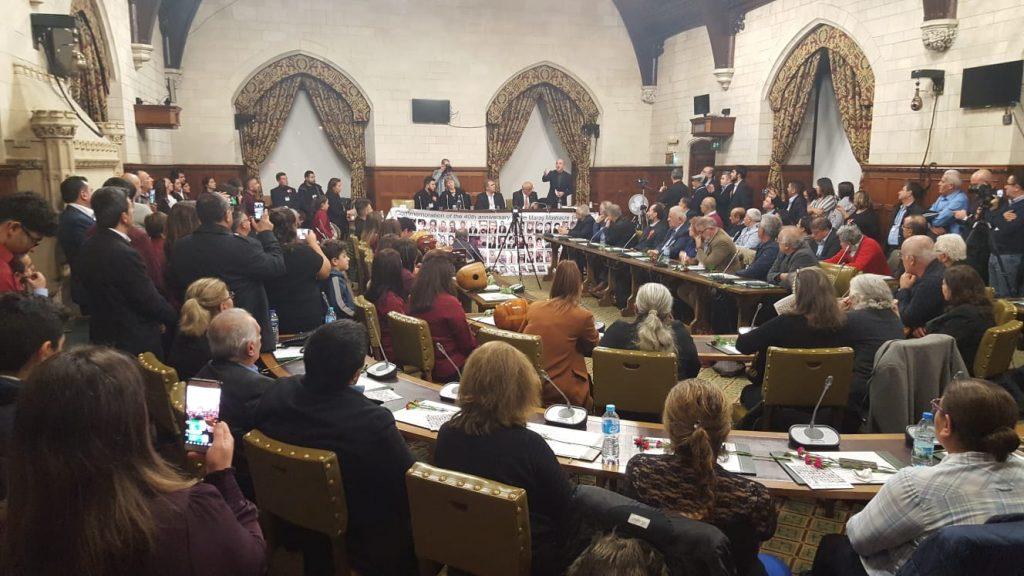 İngiltere Parlamentosu'nda 'Maraş katliamı mağdurları' anıldı