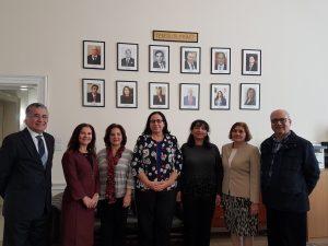 İngiltere Kıbrıs Türk Mühendisler Birliği, Tuncalı'yı ziyaret etti