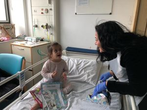 Mayor of Enfield visits children in North Middlesex hospital