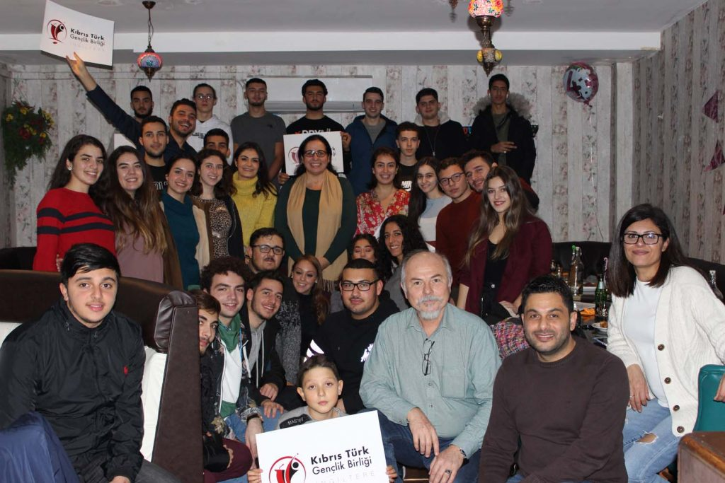 Turkish Cypriot youth united in Cardiff