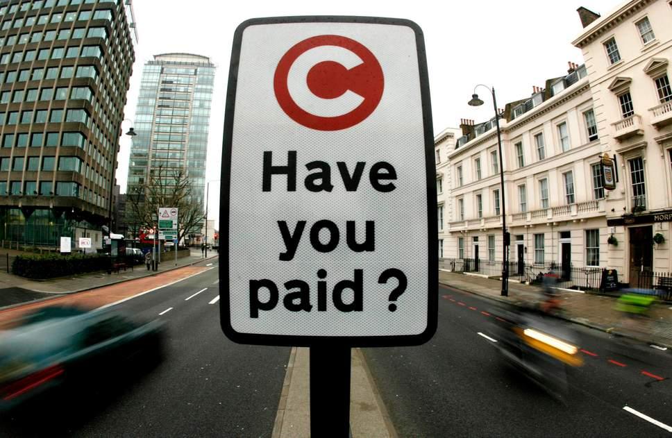 Uber ve taksiciler trafik sıkışıklığı ücretini ödemek zorunda kalacak