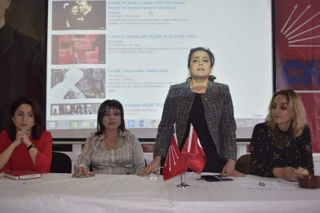 'Institution Policies Towards Women' panel took place