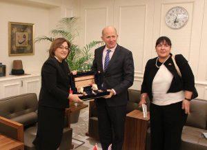 İngiltere Büyükelçisi Chilcott'tan Gaziantep'e ziyaret